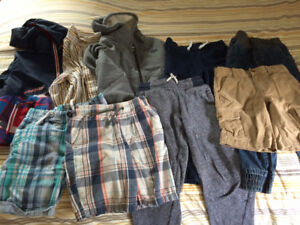Size 6-7 Clothing Including a Jacket, Hoody, Pants and Shorts