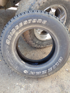 2 barely used bridgestone blizzaks