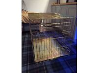 "30"" Dog Cage - Barely Used and as Good as New!"