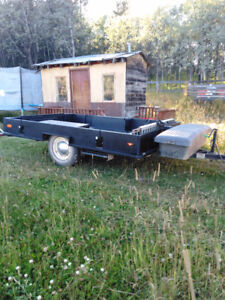 U built Utility/ ATV or toy trailer