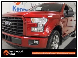 2016 Ford F-150 XLT 5.0L V8 Sport. NAV. heated seats. leather. b