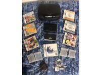 Nintendo DS (Black) Bundle and Games