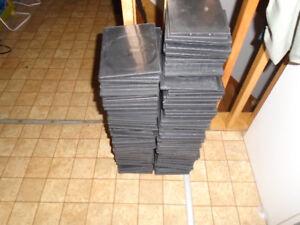 Boîtiers minces pour CD ou DVD