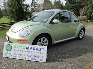 2007 Volkswagen Beetle Auto, Roof, Insp, Warr