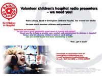 Children's hospital volunteers required