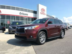 2016 Toyota Highlander XLE/V6 ALL WHEEL DRIVE
