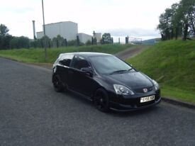 2005 55 HONDA CIVIC TYPE R PREMIER EDITION 1 PREV OWNER FSH RELIABLE CAR MAY PX NO OFFERS