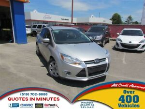 2012 Ford Focus SE | SAT RADIO | BLUETOOTH | $0 DOWN OPTIONS