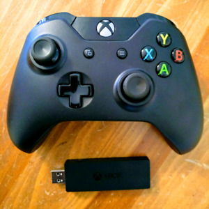 Manette Xbox One et Dongle USB  PC
