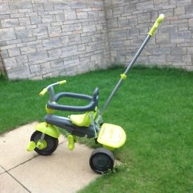Green Smart Trike in good condition for sale
