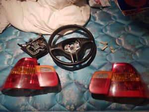 BMW E46 Tail Lights and Steering Wheel