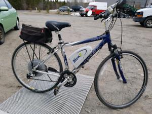 Vélo Treck avec système Bionx