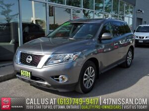 2016 Nissan Pathfinder SV 4WD | Heated Seats, Heated Steering, R