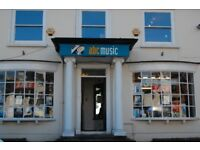 ABC MUSIC (ESHER, SURREY) REQUIRE PERSON TO INPUT MUSIC PRODUCTS ONLINE