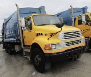 2008 STERLING REAR LOAD GARBAGE TRUCKS 2 available