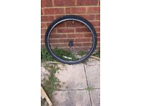 """Specialized 26"""" Bike Wheel with Quick Release Axle."""