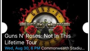 Guns and Roses tickets!