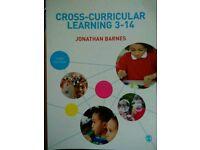 Cross-Curricular Learning 3-14 Jonathan Barnes