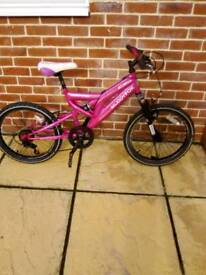 "Beautiful Muddy Fox girls bike, 20"" wheels, 5 speed gears , muddy fox athena"