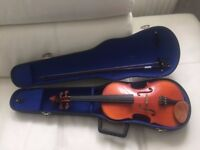Full size4/4 Stentor student violin with case and bow