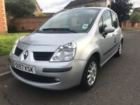 2008 LOW MILEAGE RENAULT MODUS £30 A YEAR TAX 60MPG