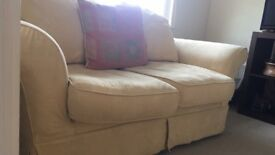 2 seater sofa removable washable covers and spare set