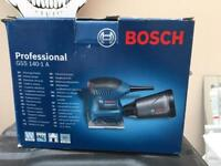 BOSCH hand sander 110v brand new in box, only opened to take photos.