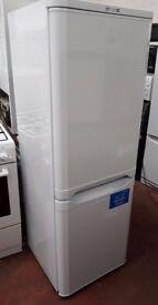 Indesit NCAA 55 Fridge Freezer - 55 cm width - 217 litre - White