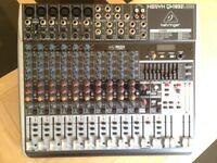Behringer Xenyx QX1832 USB FX Mixing Desk