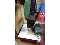 Durst Colour Enlarger with box of additional equipment