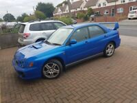 Blue subaru impreza wrx £1100 no offers
