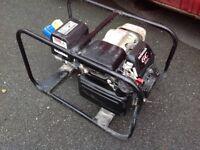 Honda generator 110 and 240v