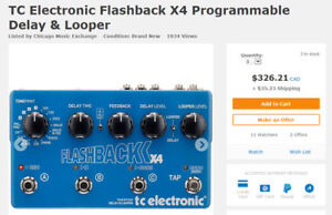 TC Electronics Flashback X4 Delay and Looper!