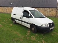 2004 citroen dispatch 1.9 diesel twin side loading doors 8 months m-o-t ready for work £695 ovno