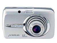 Olympus µ Mju 600 6.0MP Digital Camera