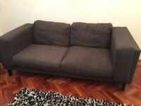 Two IKEA sofas
