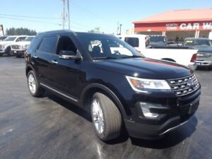 2016 Ford Explorer Limited 4x4 LEATHER SUNROOF
