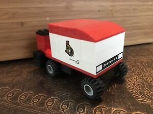 Ottawa Senators Zamboni Lego vehicle