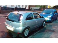Vauxhall corsa 2006 62k