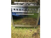 Indesit gas cooker as new