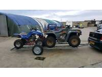 Galvanised Quad trailer