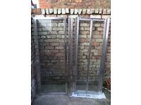 Shower enclosure - Chrome finish + tempered glass