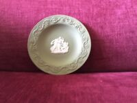 Wedgwood Green Jasperware Dishes