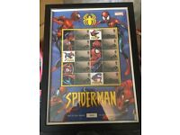 Spider-Man First Edition Number 1022 of 2500 Stamp Sheets