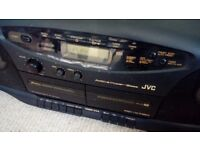 JVC Ghettoblaster Model no RC X720. CD Tape and Radio. Portable. Vintage c 1990