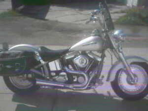 95 HARLEY FATBOY WITH S&S 96 CUBIC INCH MOTOR