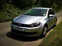 VOLKSWAGEN GOLF 1.4 S* 2009*F/S/H/* 69851*MOT MAY 2018*NEW CAM-BELT*LADY OWNER