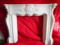 fireplace ..louis style..top quality handmade ceramic plaster finish..