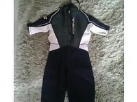 gul ladies wetsuit size 12