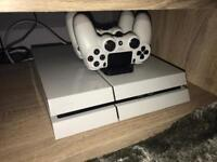 Ps4 with Games/2 Dual Controllers & Charging Dock